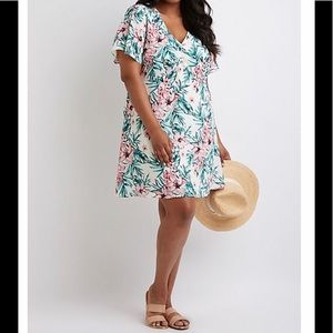 Dresses & Skirts - New Tropical Print Dress (Plus Size Only!)